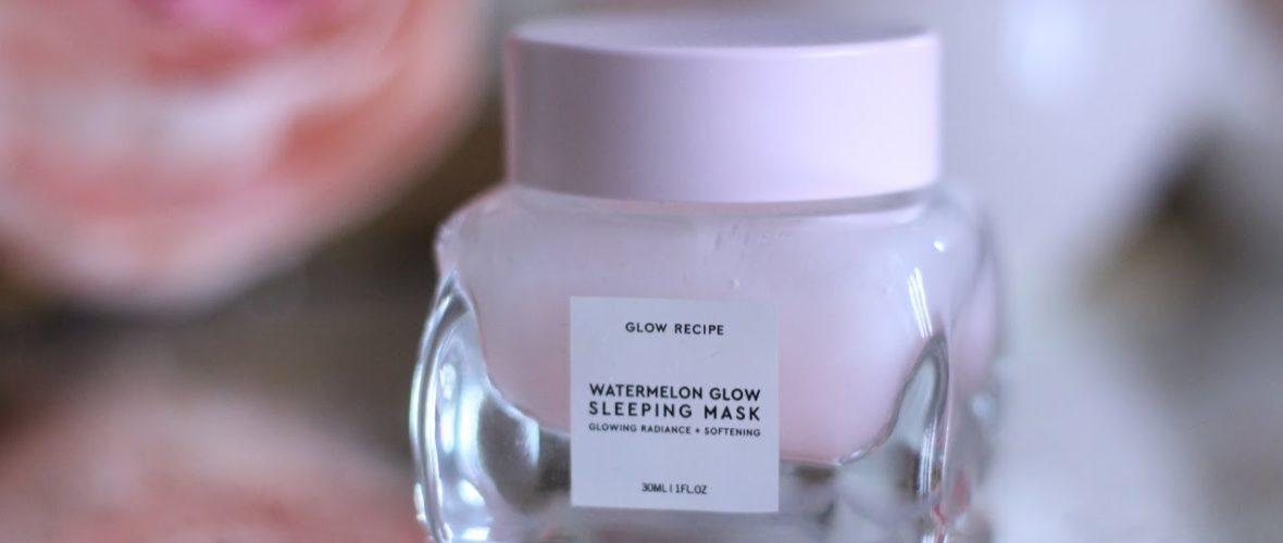 Glow Recipe Watermelon Glow Sleeping Mask Review