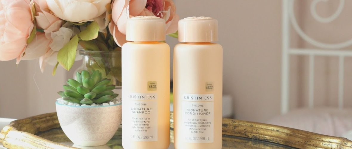 The One Signature Shampoo and Conditioner from Kristin Ess